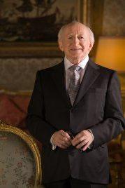 Honouree Patron, President Michael D. Higgins